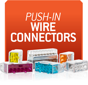 F4P Push-In Wire Connectors