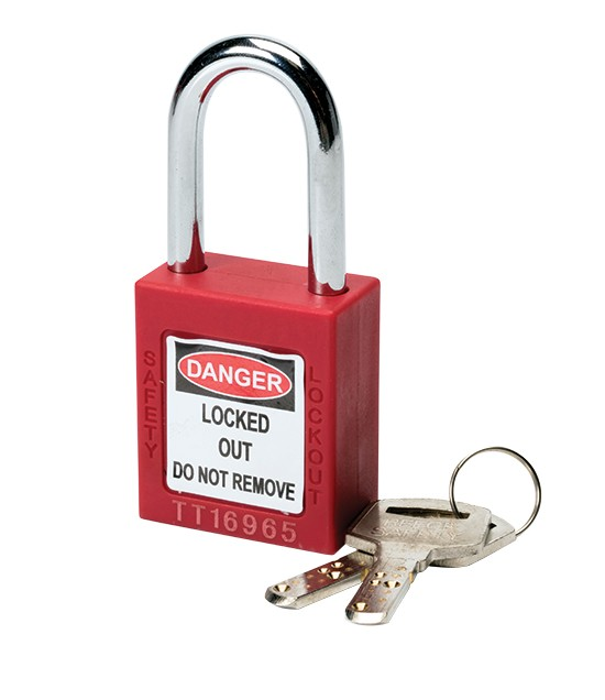 F4p Red Lockout Padlock Lockout Tagout Safety Gear