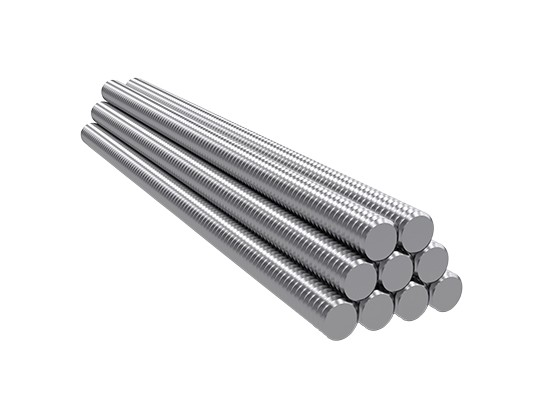 F4P | 6' 1/2-13 Stainless Steel Threaded Rod - Threaded Rod
