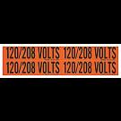 "4"" X 1"" 120/208 Volt Marker"