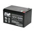 12 Volt, 12 Ah SLA Battery