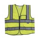 High-Visibility Zipper Vest