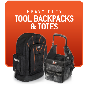 Tool Backpacks <br>& Totes
