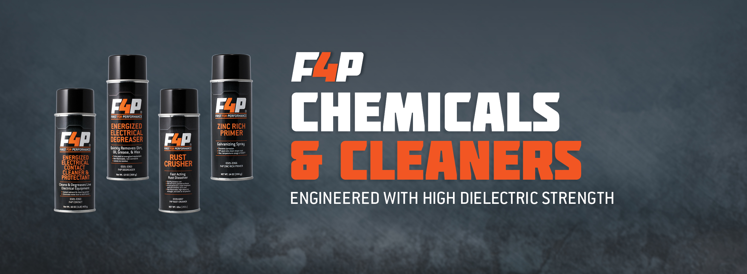 F4P Chemicals and Cleaners